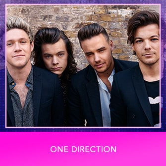 RDMA 2017 Nominee - BEST GROUP - One Direction