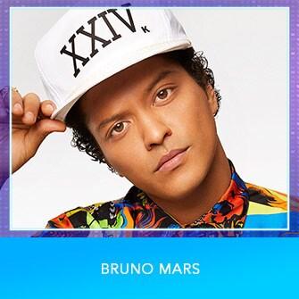 RDMA 2017 Nominee - BEST MALE ARTIST - Bruno Mars