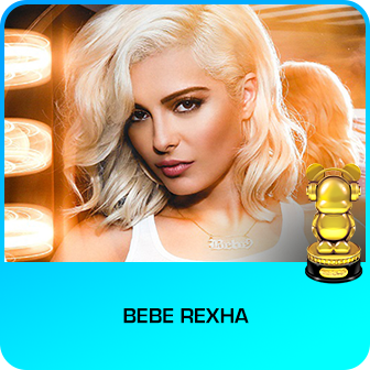 RDMA 2018 Winner - BEST NEW ARTIST - Bebe Rexha