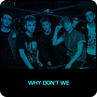 RDMA 2018 Winner - BEST NEW ARTIST - Why Don't We