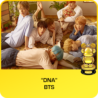 "RDMA 2018 Winner - BEST SONG THAT MAKES YOU SMILE - ""DNA"" by BTS"