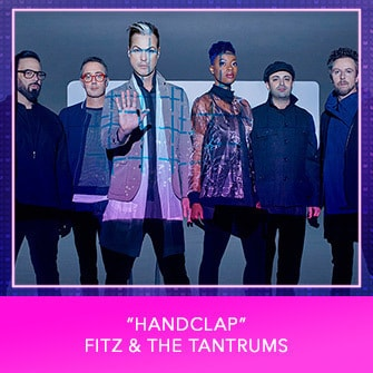 "RDMA 2017 Nominee - BEST SONG THAT MAKES YOU SMILE - ""Handclap"" by Fitz & The Tantrums"