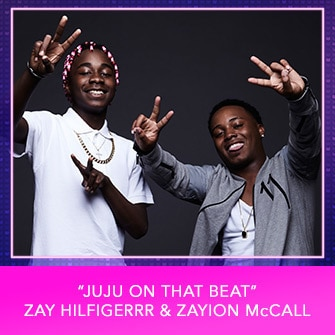 "RDMA 2017 Nominee - BEST SONG THAT MAKES YOU SMILE - ""Juju On That Beat"" – by Zay Hilfigerrr & Zayion McCall"