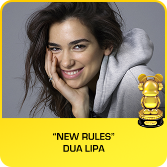 "RDMA 2018 Winner - BEST SONG TO LIP SYNC TO - ""New Rules"" by Dua Lipa"