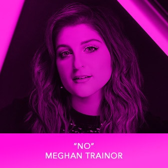 "RDMA 2017 Winner - BEST SONG TO LIP SYNC TO - ""NO"" by Meghan Trainor"