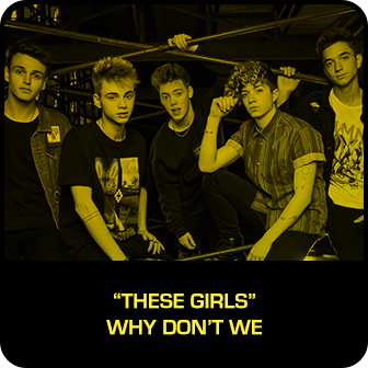 "RDMA 2018 Winner - BEST SONG TO LIP SYNC TO - ""These Girls"" by Why Don't We"