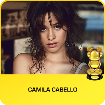 RDMA 2018 Winner - BREAKOUT ARTIST OF THE YEAR - Camila Cabello