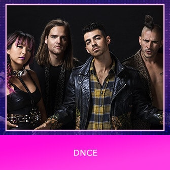 RDMA 2017 Nominee - BREAKOUT ARTIST OF THE YEAR - DNCE