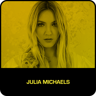 RDMA 2018 Winner - BREAKOUT ARTIST OF THE YEAR - Julia Michaels