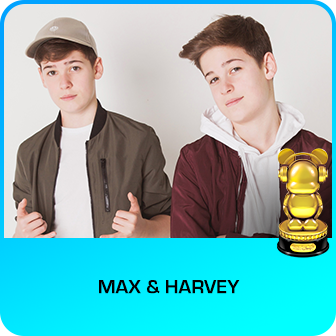 RDMA 2018 Winner - FAVORITE SOCIAL MUSIC ARTIST - Max & Harvey
