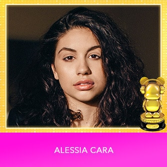 RDMA 2017 Winner - INTERNATIONAL - BREAKOUT ARTIST OF THE YEAR - Alessia Cara