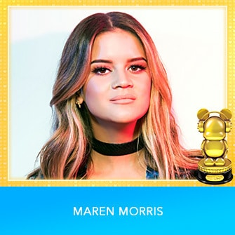 RDMA 2017 Winner - INTERNATIONAL - COUNTRY BEST NEW ARTIST - Maren Morris