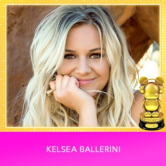 RDMA 2017 Winner - INTERNATIONAL - COUNTRY FAVORITE ARTIST - Kelsea Ballerini