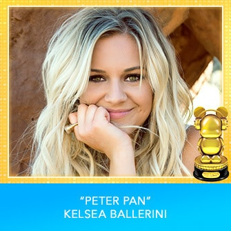 "RDMA 2017 Winner - INTERNATIONAL - COUNTRY FAVORITE SONG - ""Peter Pan"" by Kelsea Ballerini"