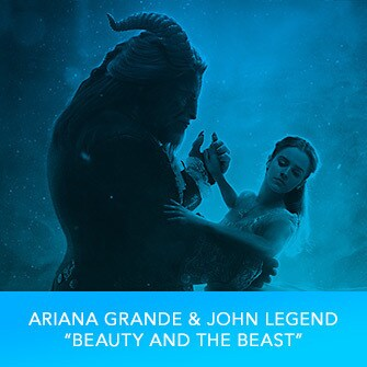 "RDMA 2017 Winner - BEST COLLABORATION - Ariana Grande & John Legend ""Beauty & The Beast"""