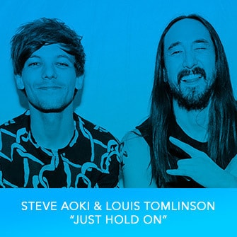 "RDMA 2017 Winner - BEST COLLABORATION - Steve Aoki & Louis Tomlinson ""Just Hold On"""