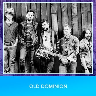 RDMA 2017 Nominee - COUNTRY BEST NEW ARTIST - Old Dominion