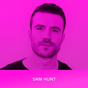 RDMA 2017 Winner - COUNTRY FAVORITE ARTIST - Sam Hunt