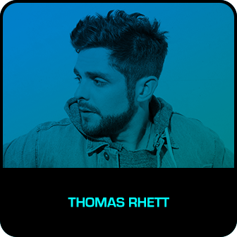 RDMA 2018 Winner - RADIO DISNEY COUNTRY FAVORITE ARTIST - Thomas Rhett