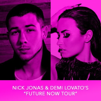 "RDMA 2017 Winner - FAVORITE TOUR - Nick Jonas & Demi Lovato's ""Future Now Tour"""