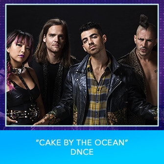 "RDMA 2017 Nominee - SONG OF THE YEAR - ""Cake By The Ocean"" by DNCE"
