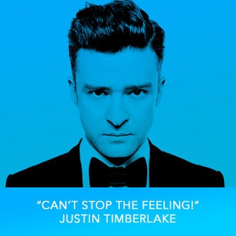 "RDMA 2017 Winner - SONG OF THE YEAR - ""Can't Stop The Feeling!"" by Justin Timberlake"