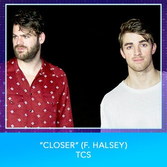 "RDMA 2017 Nominee - SONG OF THE YEAR - ""Closer (f. Halsey)"" by TCS"