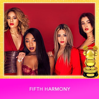 RDMA 2017 Winner - INTERNATIONAL - BEST GROUP - Fifth Harmony
