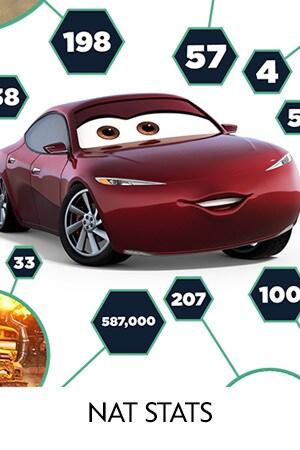 Cars 3 - Nat Stats