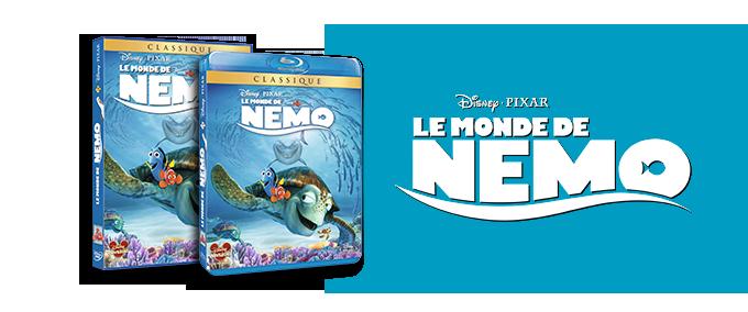 DVD / Blu-ray Le Monde de Nemo