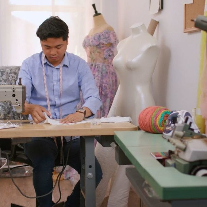 How One Dad Turned a Hobby Into a Career Through Disney Princess-Inspired Dresses