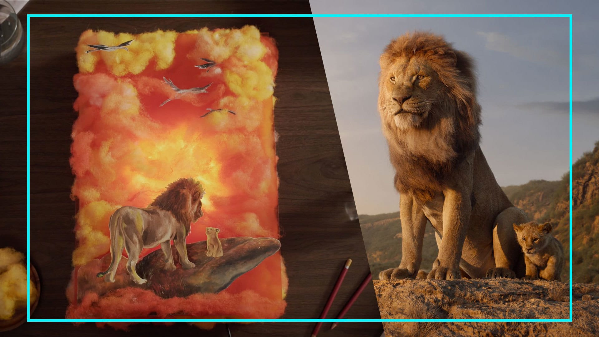 Disney Style: Disney's The Lion King ศิลปะที่สร้างสรรค์จากอิลัสเตรเตอร์ชาวไทย Darisa Riety Karnpoj