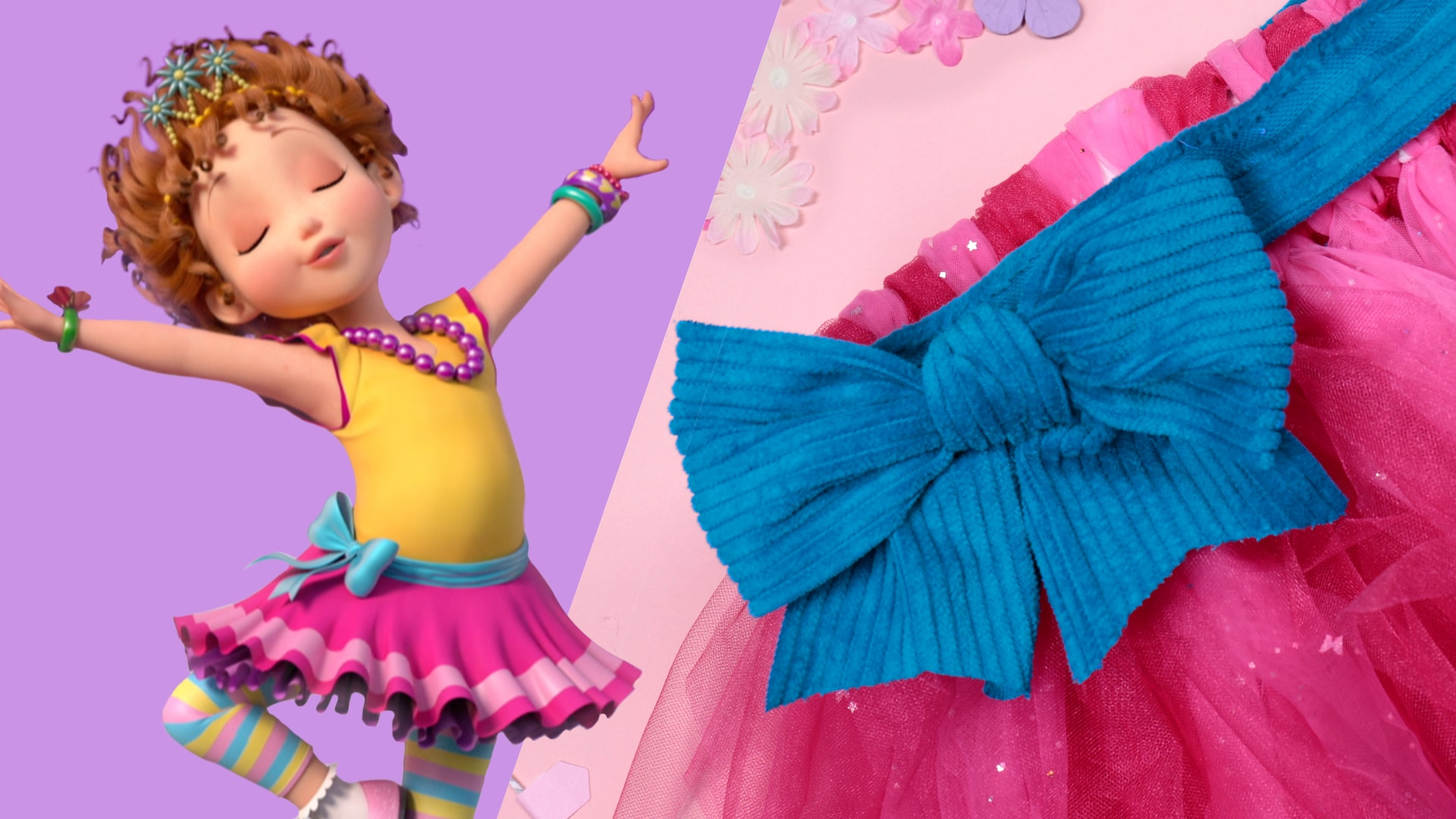 Your Little One Will Love This Lovely No-Sew Tutu Inspired By Fancy Nancy