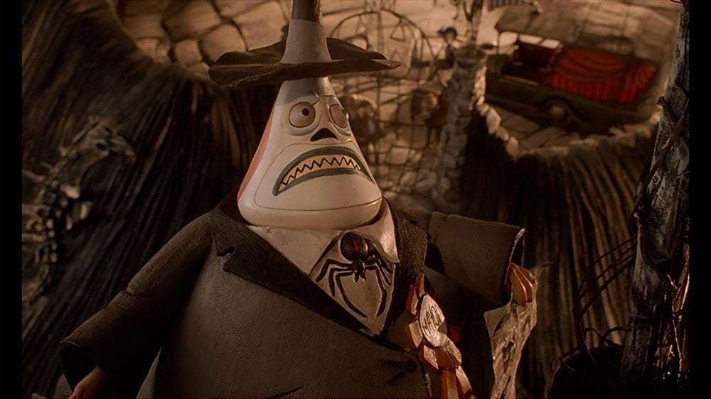 "The Mayor from the film ""The Nightmare Before Christmas"""