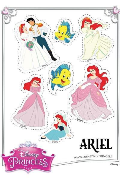 Ariel Stickers