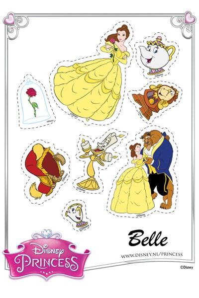 Belle Stickers