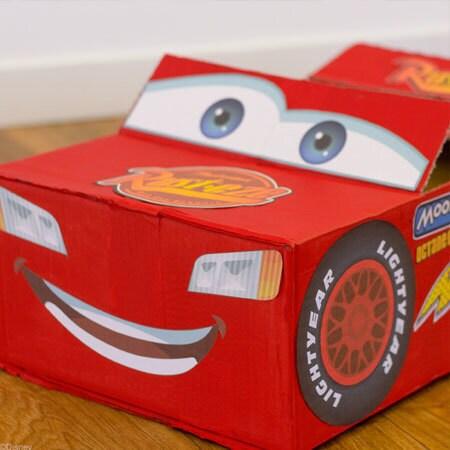 Bliksem McQueen-auto
