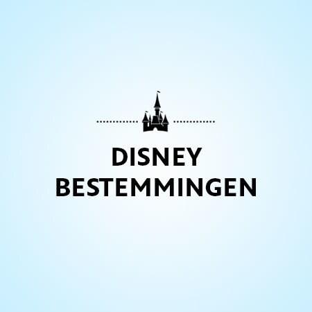 Bekijk alle Disney Bestemmingen