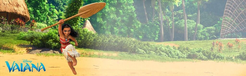 Homepage - Moana Animated Hero