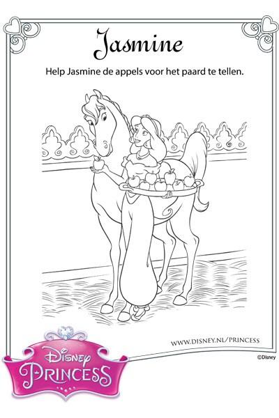 Jasmine telt appels