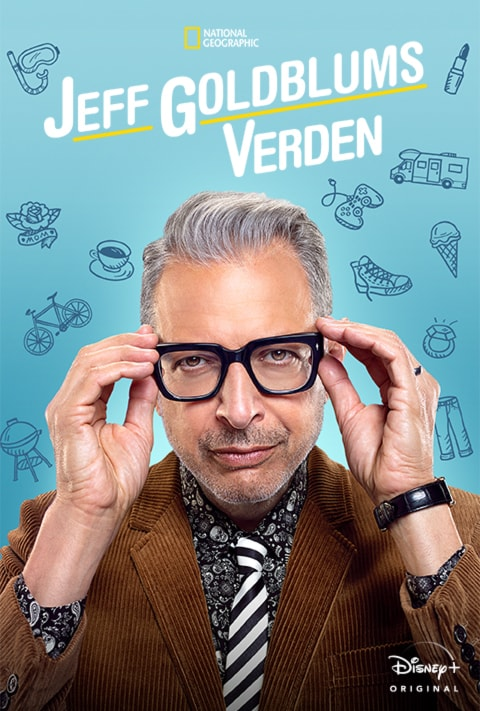 Disney Plus - The World According to Jeff Goldblum - Poster - Intro Article