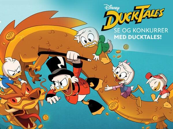Se og konkurrer med DuckTales!