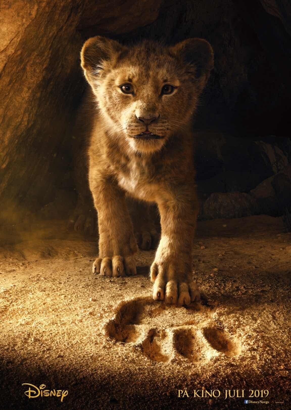 Løvenes Konge (2019) plakat
