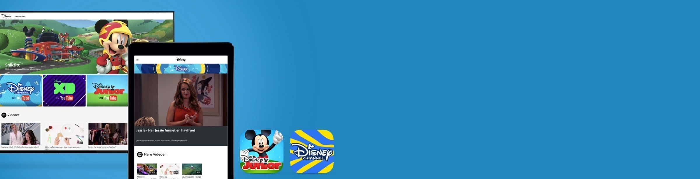 Disney Channel app | Disney Junior app