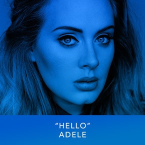 """Hello"" by Adele"