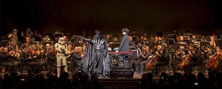 Star Wars: se estrenó Una Nueva Esperanza en concierto