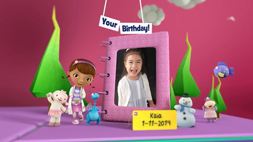 Disney Junior Birthday Book 2018 November Album 10