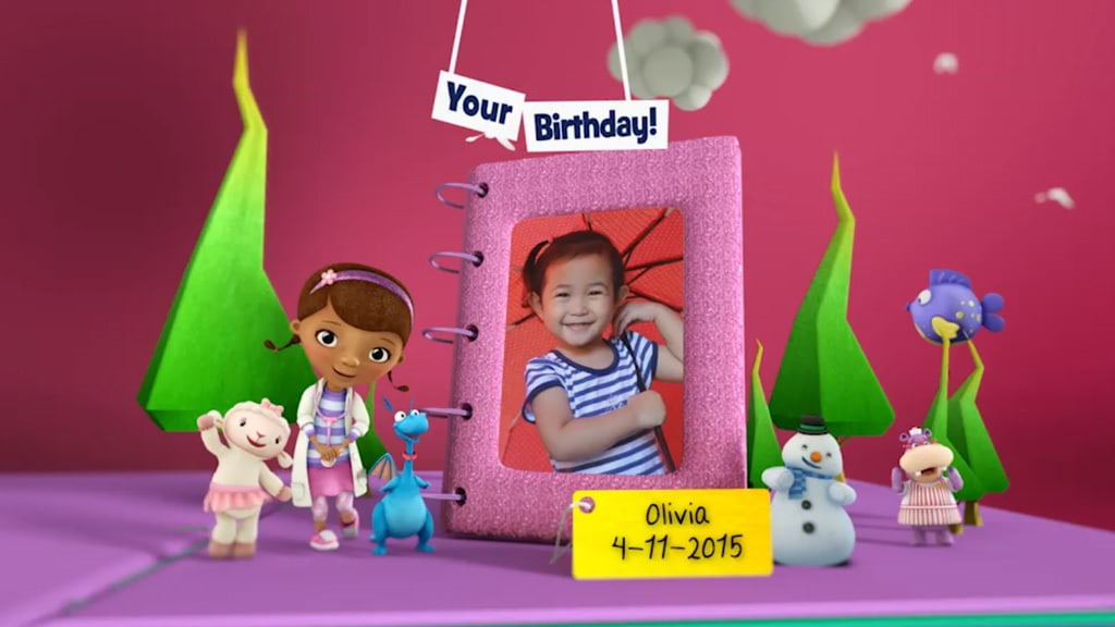 Disney Junior Birthday Book 2018 November Album 12