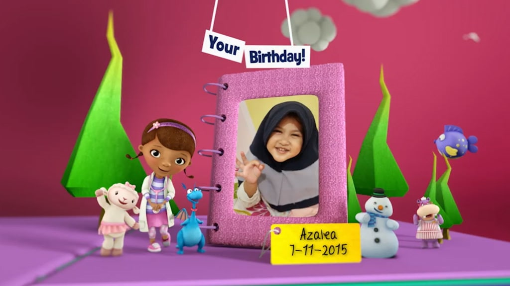 Disney Junior Birthday Book 2018 November Album 6