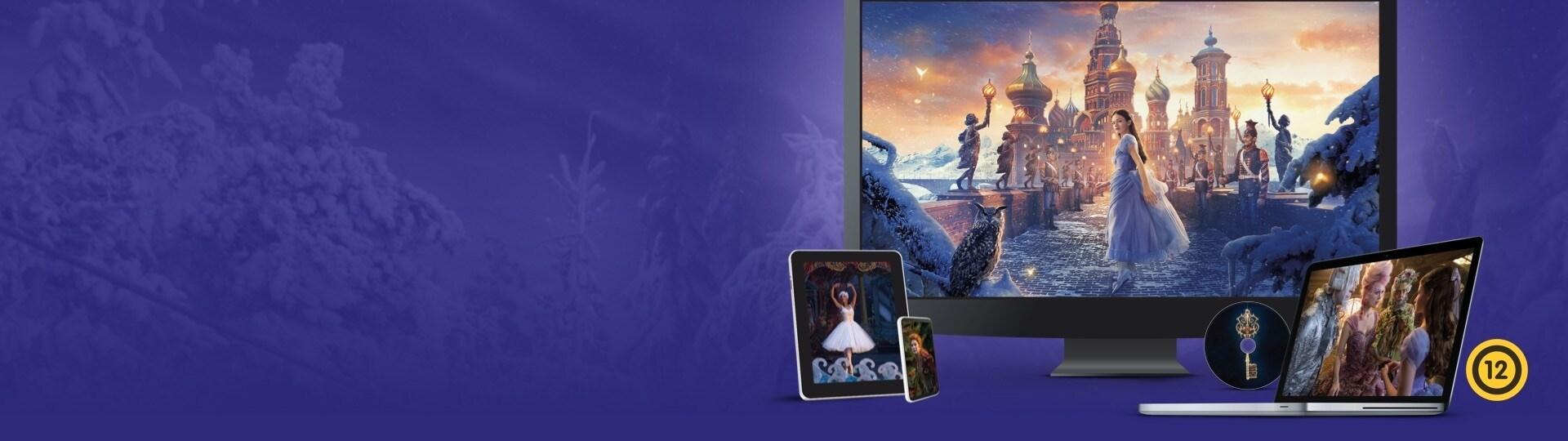 A diótörő és a négy birodalom | Kapható DVD-n és digitális formátumban